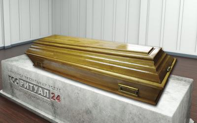 Гроб «Б4 Дуб»