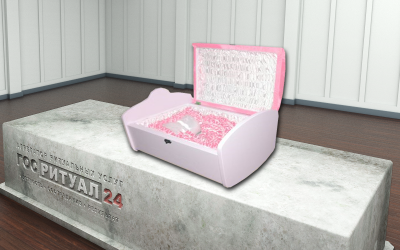Гроб детский «Люлька»