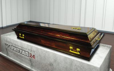 Гроб четырехгранник «Ватерлоо»